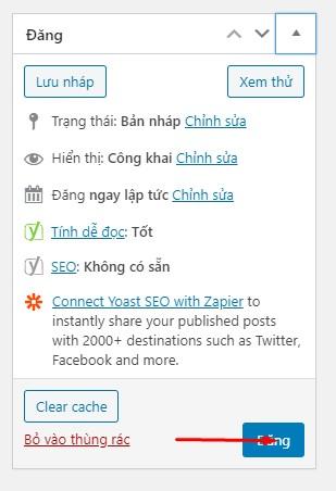 Đăng Bài Website